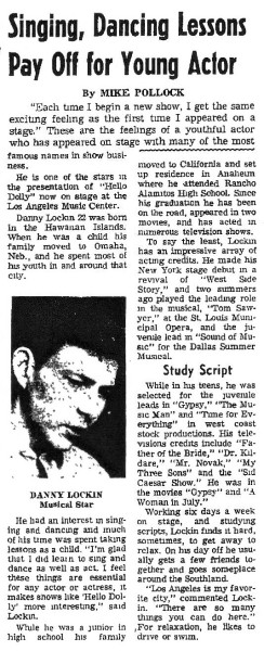Ogden Standard-Examiner: 1/3/70 article