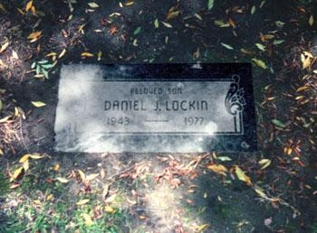 Dannys gravestone