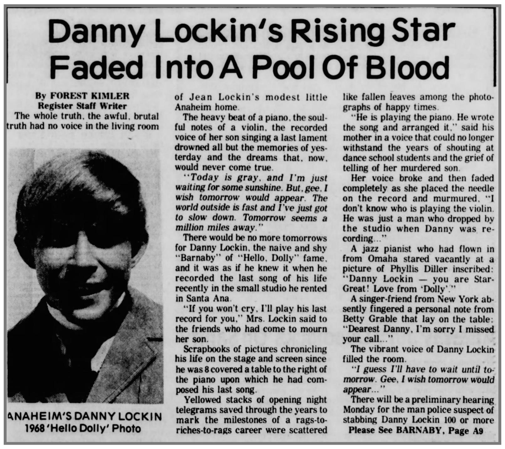 Danny's death pg#1